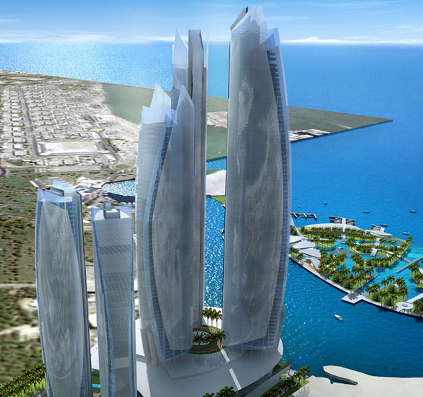 etihad towers project